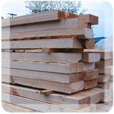 Stack of Canadian Lumber Image