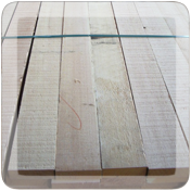 Douglas fir timber boards image